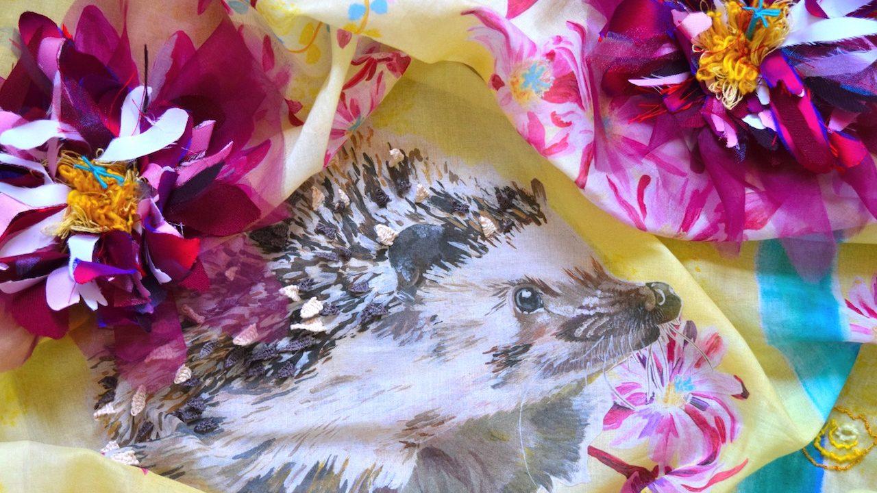 Enchanted Garden Embroidery Close-up 11
