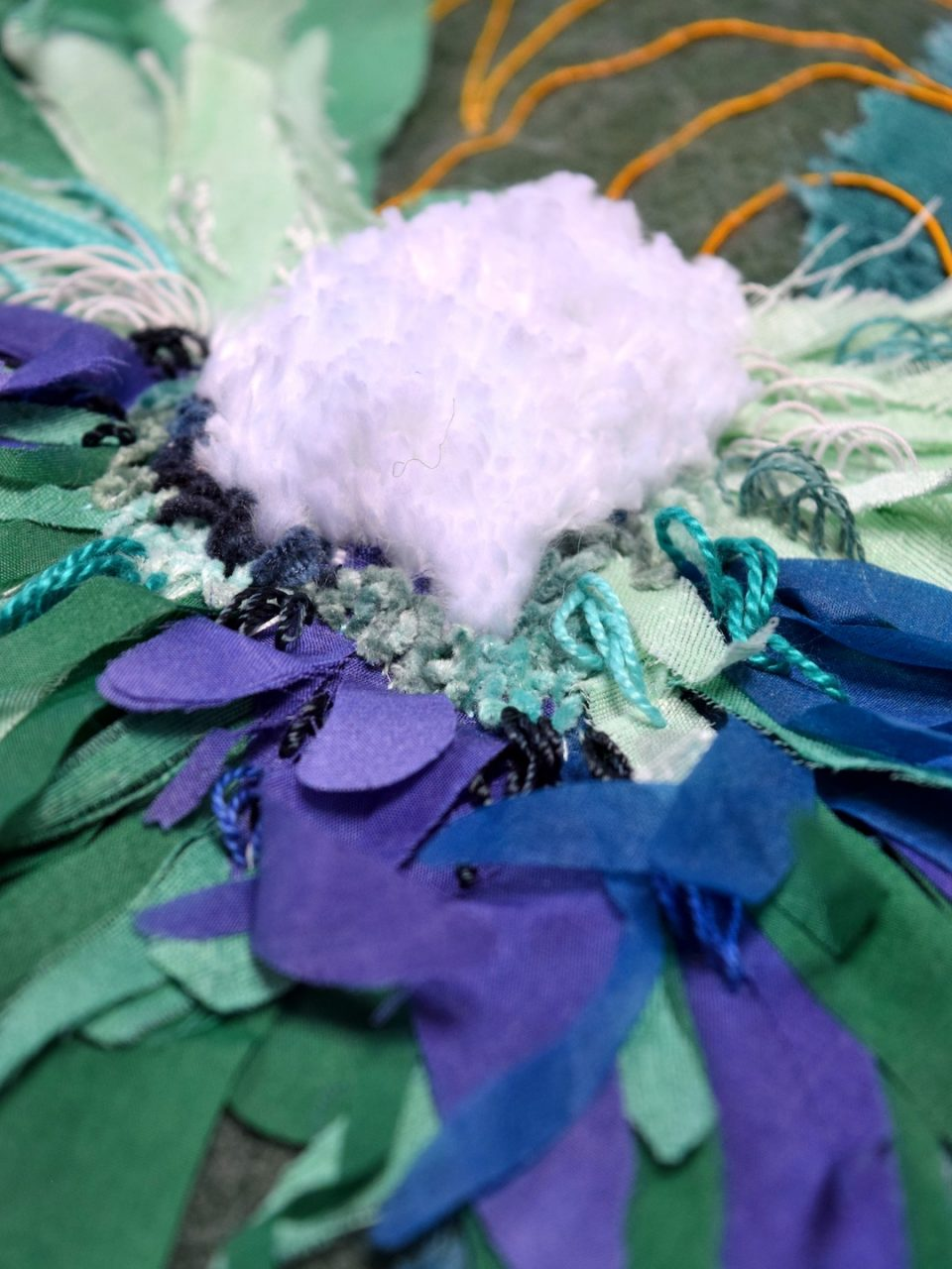Into The Graden Formal Garden Blanket Embroidery 04