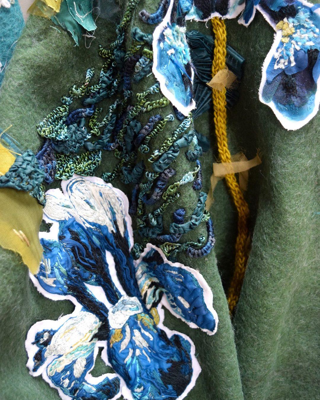 Into The Graden Formal Garden Blanket Embroidery 06