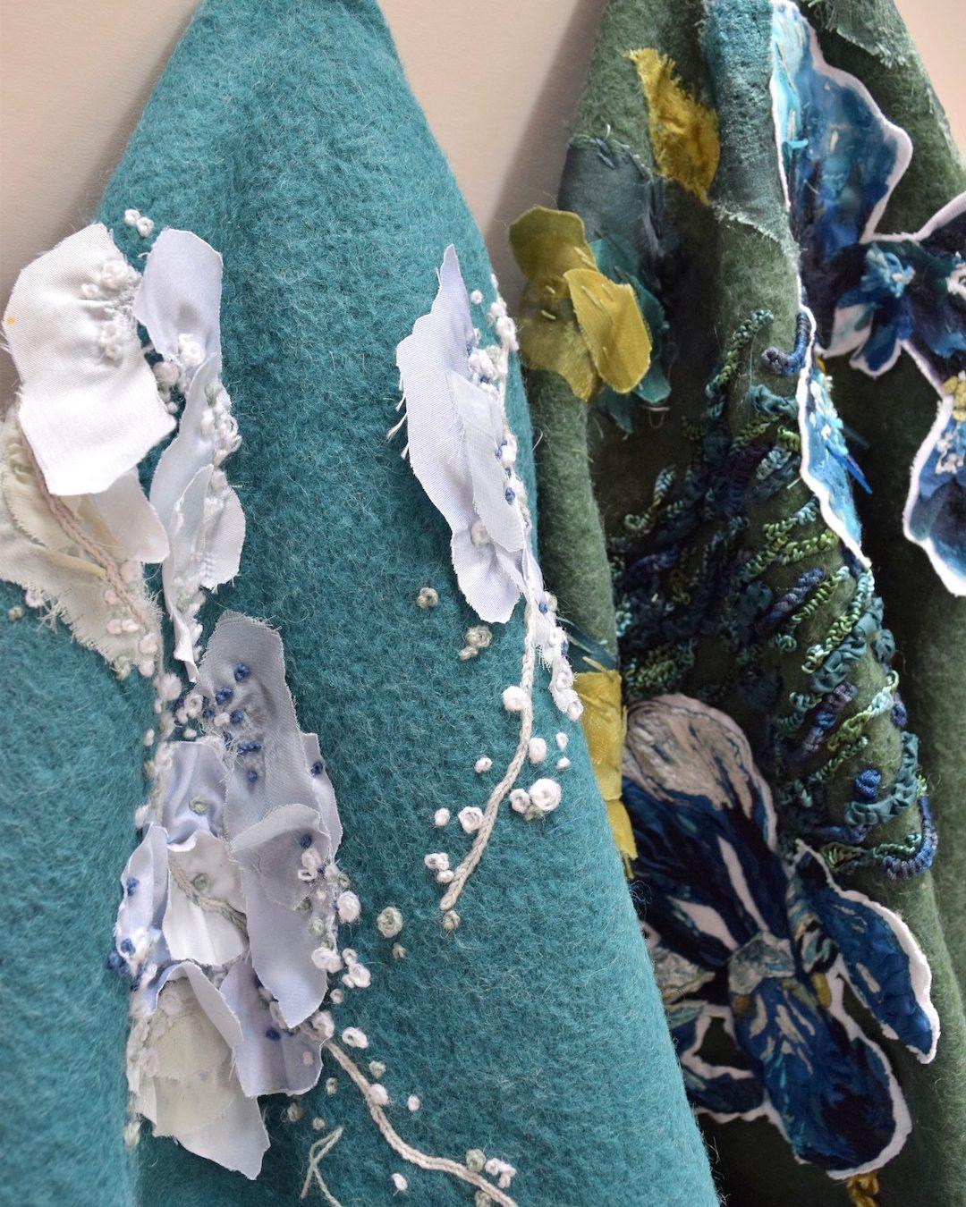 Into The Graden Formal Garden Blanket Embroidery 07