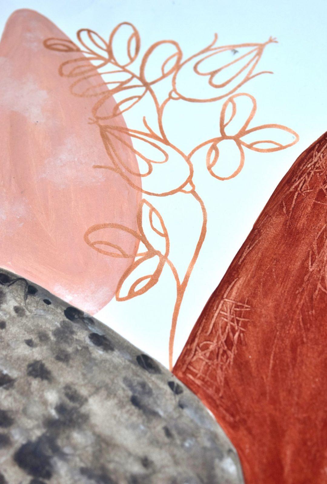 Terracotta Botanicals Drawing 03