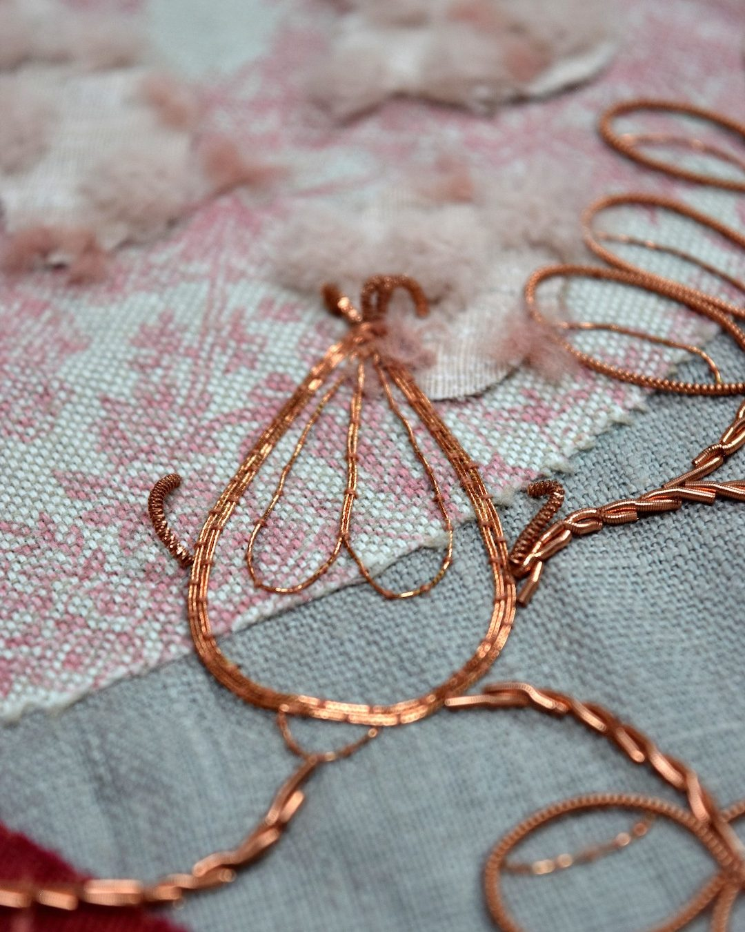 Terracotta Botanicals Embroidery 04